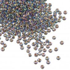 Koraliki TOHO Round 11/0 Gold-Lined Rainbow Lt Sapphire