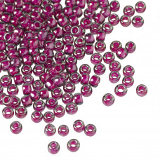 Koraliki TOHO Round 8/0 Inside Color Grey/Magenta Lined