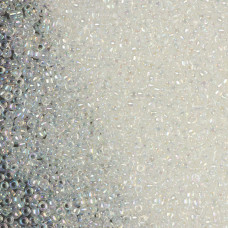 Koraliki TOHO Round 15/0 Trans-Rainbow Crystal