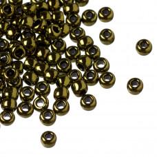Koraliki TOHO Round 6/0 Gold-Lustered Dark Chocolate Bronze