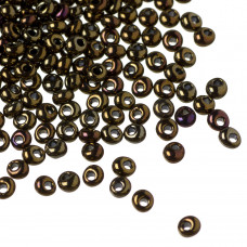 Koraliki TOHO Magatama 3mm Metallic Iris Brown
