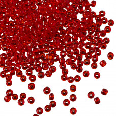 Koraliki TOHO Round 11/0 Transparent Siam Ruby