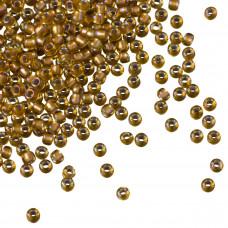 Koraliki TOHO Round 11/0 Gold-Lined Rainbow Topaz