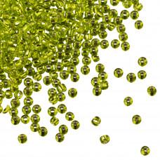 Koraliki TOHO Round 11/0 Silver-Lined Lime Green