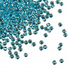 Koraliki TOHO Round 11/0 Silver-Lined Aquamarine