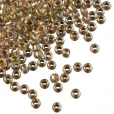 Koraliki TOHO Round 8/0 Gold-Lined Rainbow Crystal