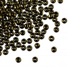 Koraliki TOHO Round 8/0 Gold-Lustered Dark Chocolate Bronze