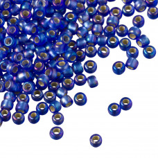 Koraliki TOHO Round 8/0 Silver-Lined Frosted Rainbow Sapphire