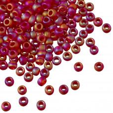 Koraliki TOHO Round 8/0 Trans-Rainbow-Frosted Ruby