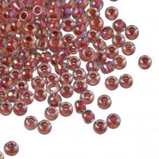 Koraliki TOHO Round 8/0 Inside-Color Rainbow Crystal/Sandstone Lined