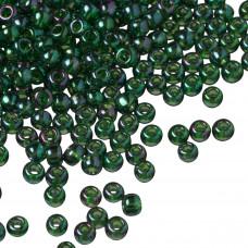 Koraliki TOHO Round 8/0 Gold-Lustered Emerald