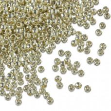 Koraliki TOHO Round 11/0 Permanent Finish - Galvanized Aluminum