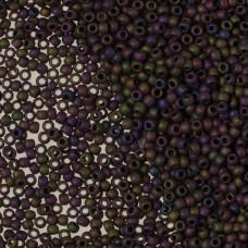 Koraliki TOHO Round Frosted Metallic Iris Purple 11/0