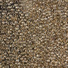 Koraliki TOHO Round Gold-Lined Crystal 11/0
