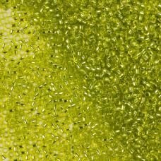 Koraliki TOHO Round Silver-Lined Lime Green 15/0