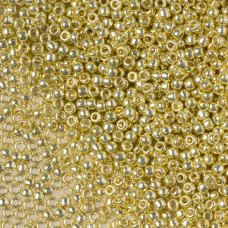 Koraliki TOHO Round 11/0  Permanent Finish - Galvanized Yellow Gold