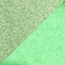 Koraliki TOHO Round 11/0 Glow In The Dark Mint Green/Bright Green