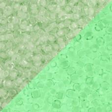 Koraliki TOHO Round 8/0 Glow In The Dark Mint Green/Bright Green