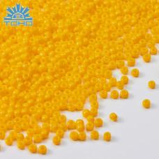 Koraliki TOHO Round 11/0 Opaque Sunshine