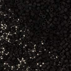 Koraliki TOHO Hex 11/0 Opaque-Frosted Jet