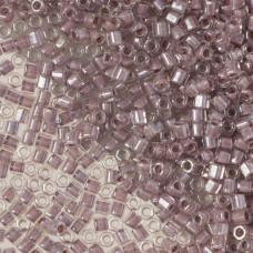 Koraliki TOHO Hex 8/0 Inside-Color Crystal/Lavender Lined