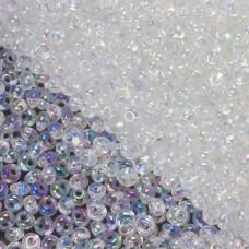 Koraliki TOHO Magatama 3mm Trans-Rainbow Crystal