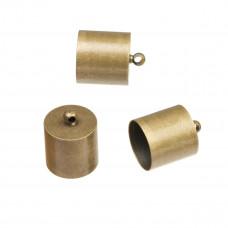 Końcówki do rzemieni antyczne  11,5mm