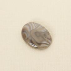 Krzemień pasiasty kaboszon owal 34x25 mm