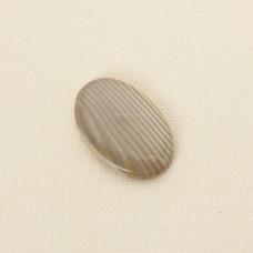 Krzemień pasiasty kaboszon owal 35x23 mm