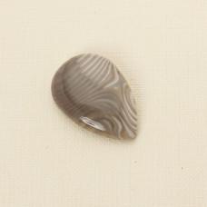 Krzemień pasiasty kaboszon łezka 38x25 mm