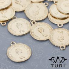 Zawieszka moneta Królowa Elżbieta II 19.5mm