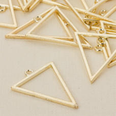 Baza kolczyka trójkąt 35x28 mm