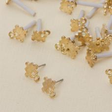 Kolczyki puzzle z oczkiem 11 mm