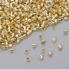 Zaciski w złotym kolorze 1.2mm