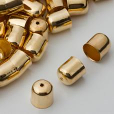Końcówki do bransoletek naparstki z otworem 10mm
