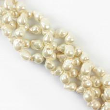 Perły seashell baroque 15mm