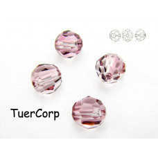 Swarovski kula 4mm antique pink