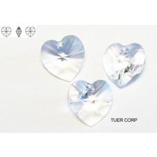 Swarovski heart 10mm crystal