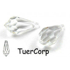 Swarovski tear drop 15mm crystal