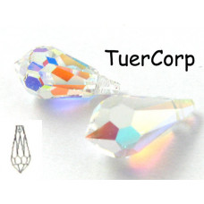 Swarovski tear drop 15mm crystal AB