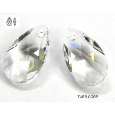 Swarovski pear-shaped 22mm crystal