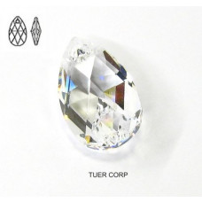 Swarovski pear-shaped 28mm crystal