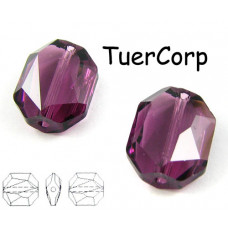 Swarovski 5520 graphic 12mm amethyst