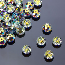 Swarovski oponka 8mm crystal AB
