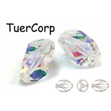 Swarovski cubist bead 12mm crystal AB