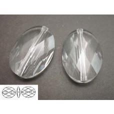 Swarovski oval bead 22mm crystal