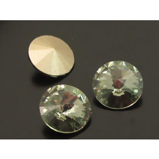 Swarovski rivoli stone black diamond 10mm