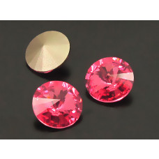 Swarovski rivoli stone rose 10mm
