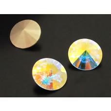 Swarovski rivoli stone crystal AB 10mm