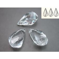 Swarovski helix pendant 18mm crystal